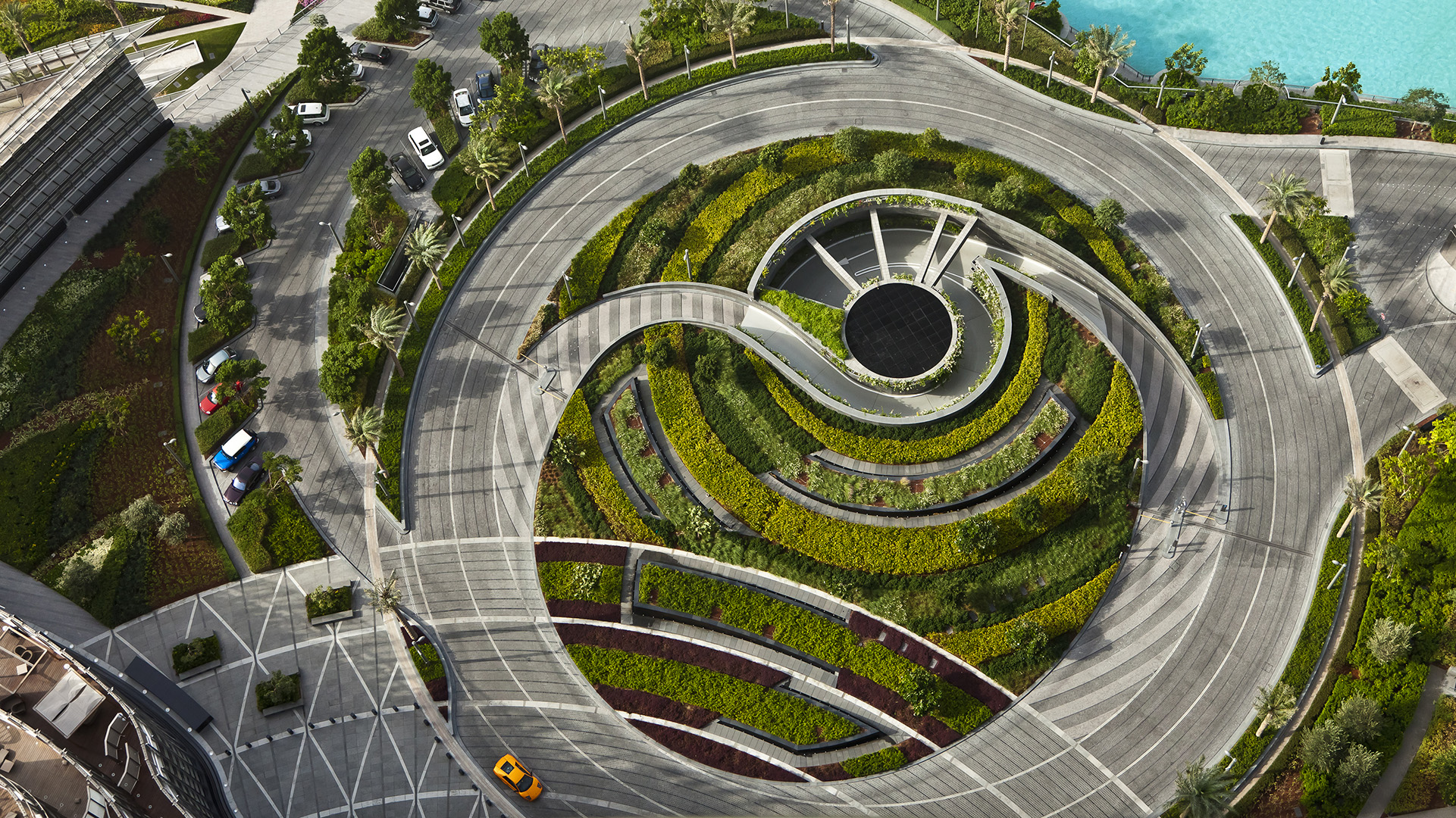 Layout Circular Driveway Dimensions