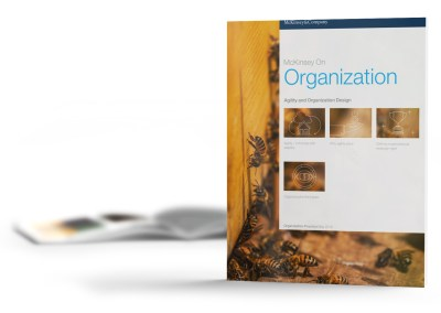 Agility and Organization Design | McKinsey