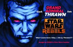 Get Thrawn in Star Wars Rebels