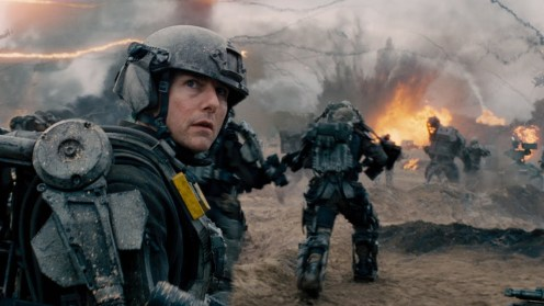 "Tom Cruise in ""Edge of Tomorrow."""