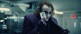 """Health Ledger as The Joker in Christopher Nolan's """"The Dark Knight"""" (2008), the 10th-best summer blockbuster, according to us."""