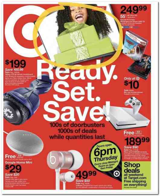 2017 Target Black Friday Ad Scan
