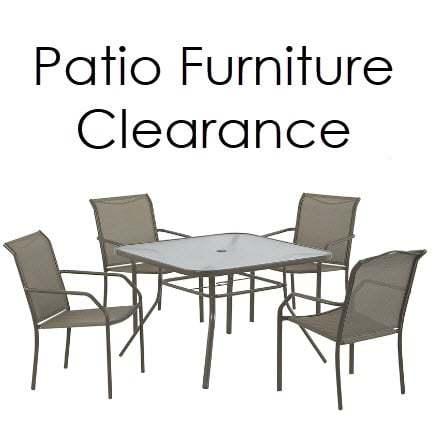 huge lowe s patio furniture sale