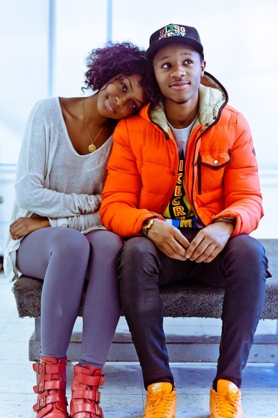 young black couple 2