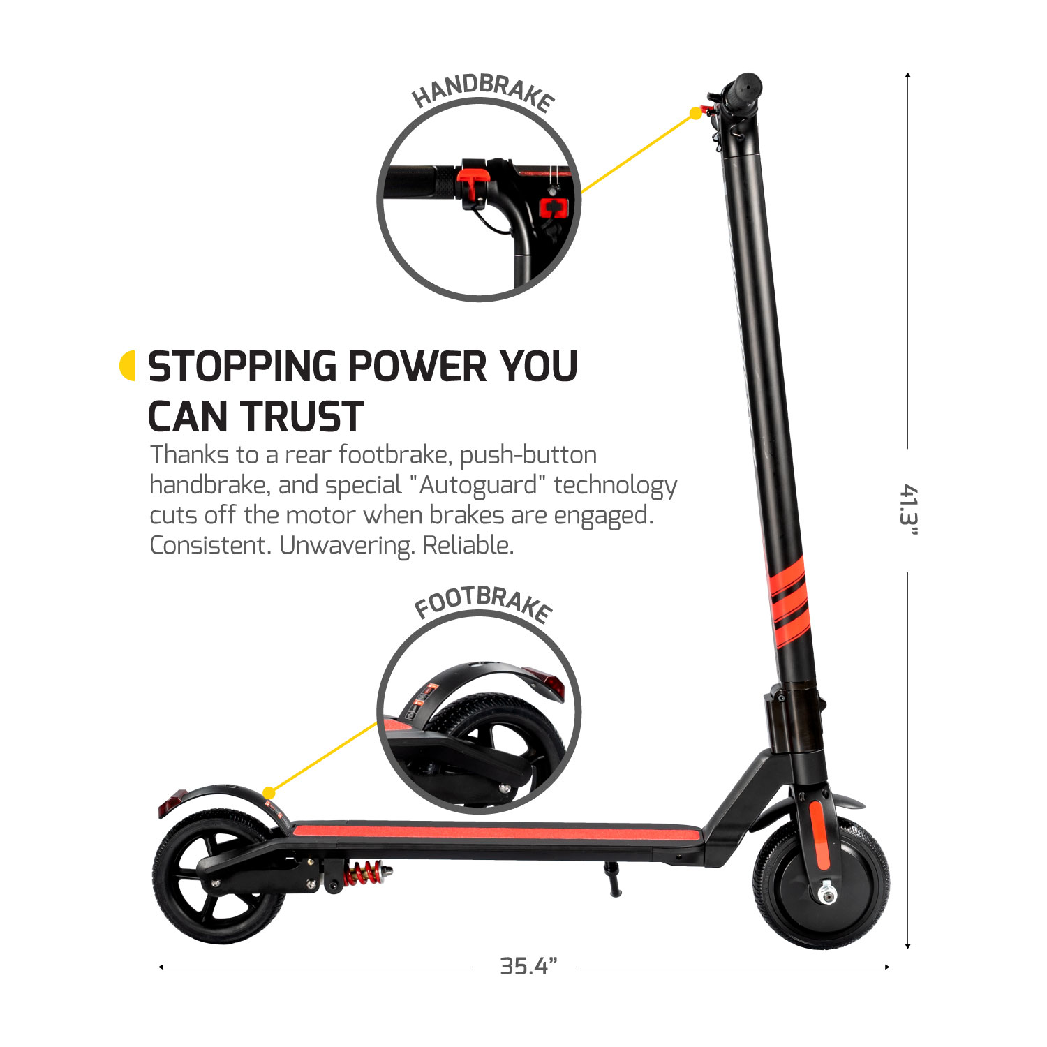 Extended Range Swagger Pro 3 Electric Scooter