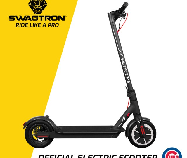 Swagtron City Commuter Electric Scooter Elite Sg5