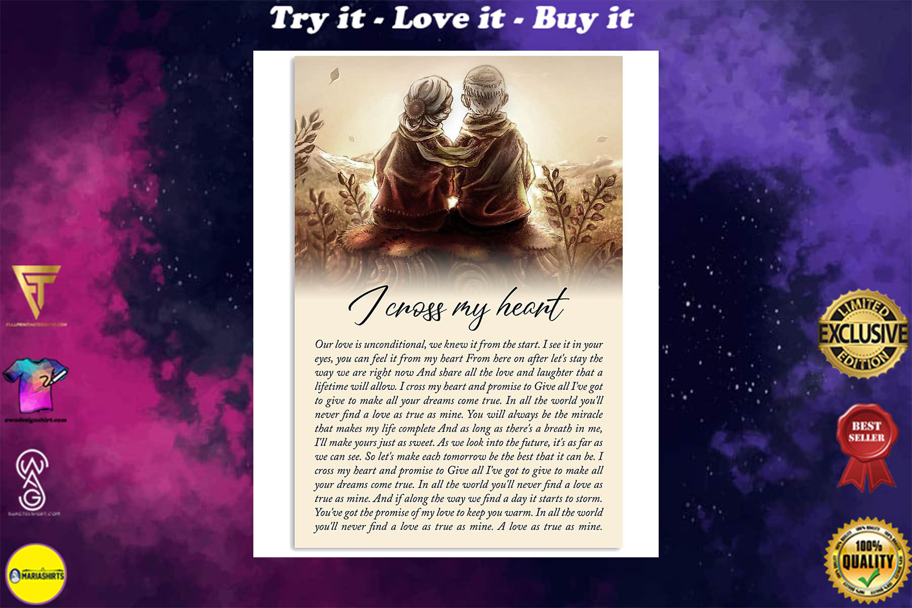 best selling products george strait i cross my heart lyrics couple in love poster