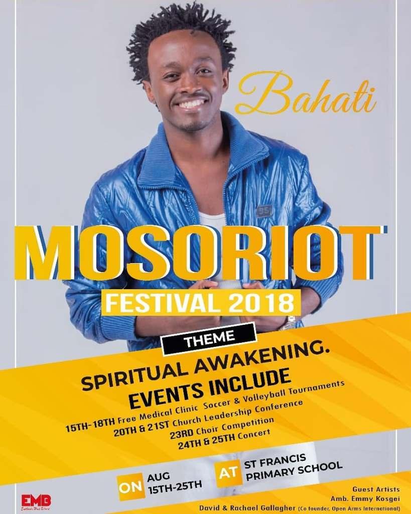 38836394 1084496221705179 5609387774323982336 n Bahati Mosoriot Festival 2018