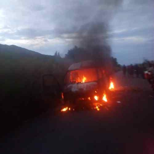 Waasi wa Burundi wame huunguza kwa moto basi hapo Uvira/DRC