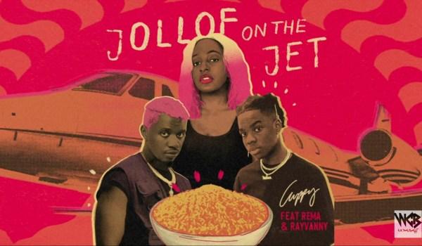 Coppy-Jollof On The jet Ft. Rema & Rayvanny (Official Audio)