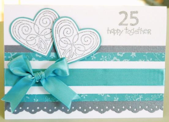 25th silver jubilee wedding anniversary