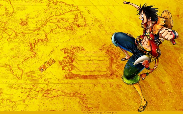 Map One Piece Anime 1280x720 Wallpaper Teahub Io