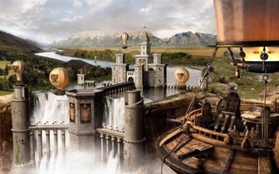 Fantasy City Wallpaper Medieval Fantasy City 1920x1080 Wallpaper teahub io