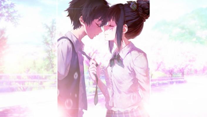 Anime Love Wallpaper For Iphone 800x1280 Wallpaper Teahub Io