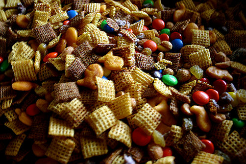 Salty or Sweet?  Mixed-Up Chex Mix
