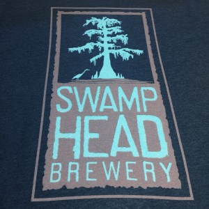 Swamp-Head-Black-Aqua-T-Shirt-Back