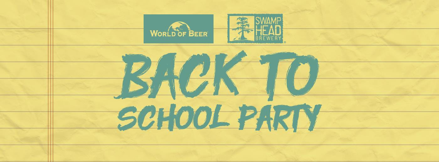 Swamp Head Back to School Party