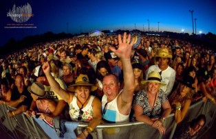 The crowd rocking out at UTSS (Forster) 2018