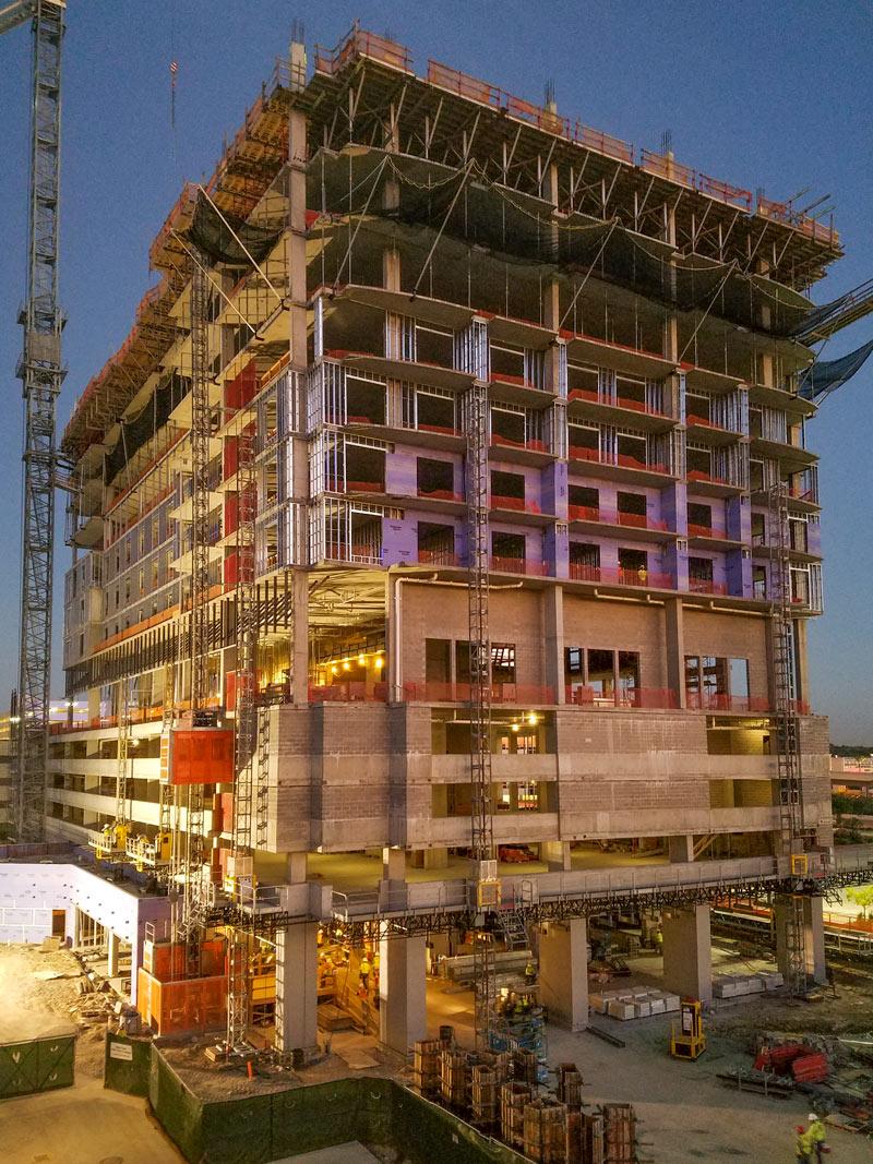 Partially Constructed Memorial City Hotel Zaza Already
