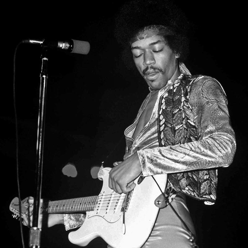 Jimi Hendrix by Marcellino Hudalla