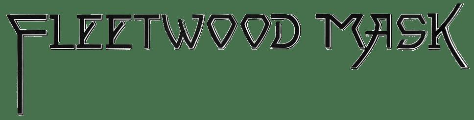 Fleetwood Mask Logo B&W