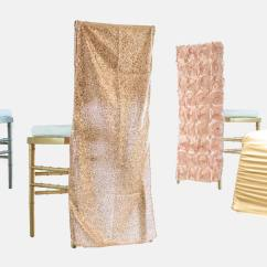 Wedding Chair Covers Rentals Seattle High Accessories Swank Chic Cover
