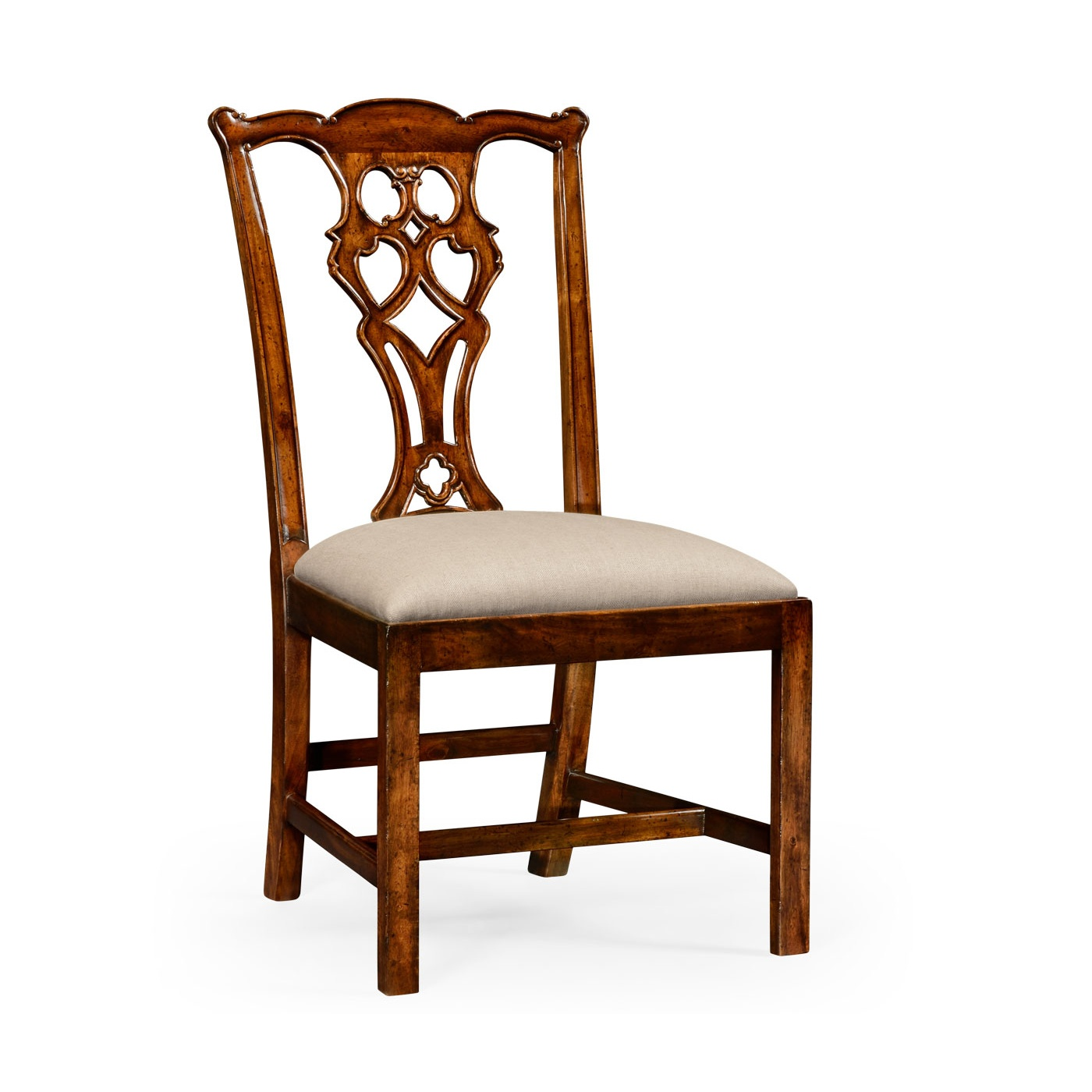 Walnut Dining Chair Jonathan Charles Furniture Chippendale Walnut Dining Chair