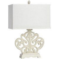 Buy French Country Table Lamp, Rectangular