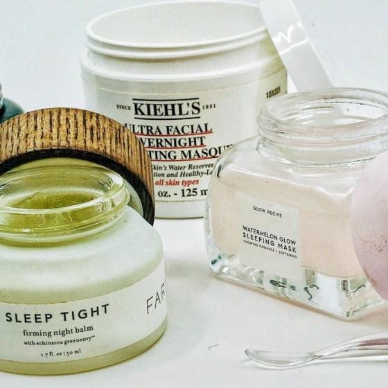 Sleep Mask For Glowing Skin