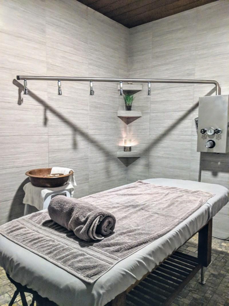 Treatment Room At Hiatus Spa