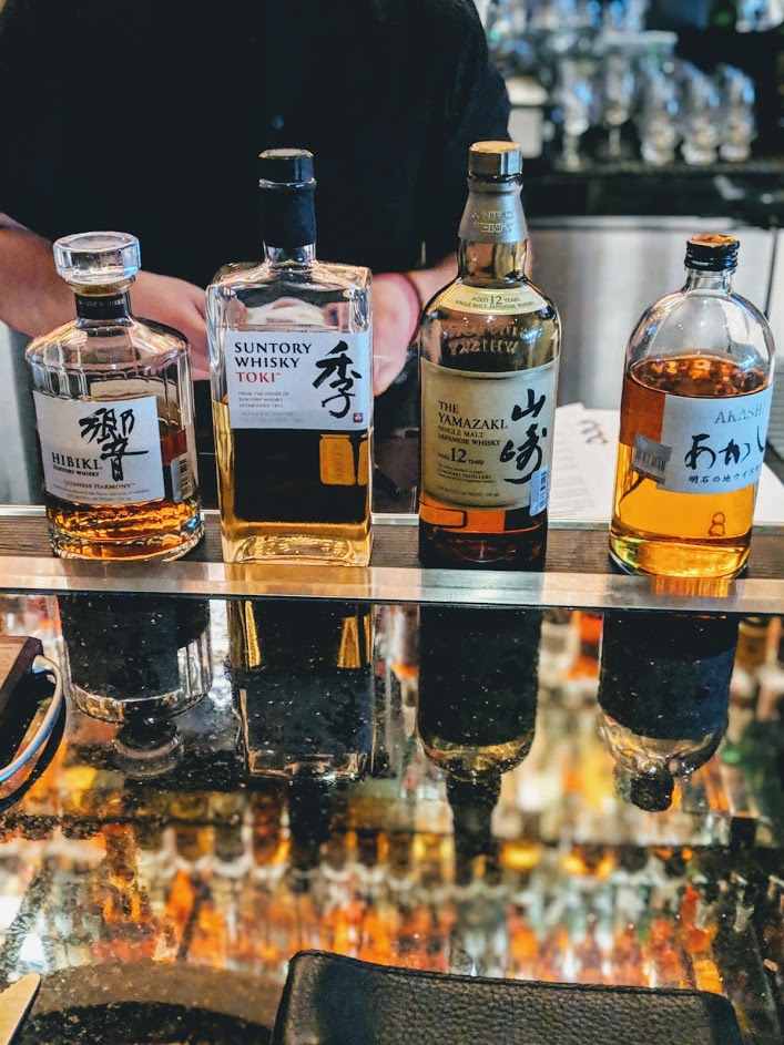 Mastro's Japanese Whiskey Flight