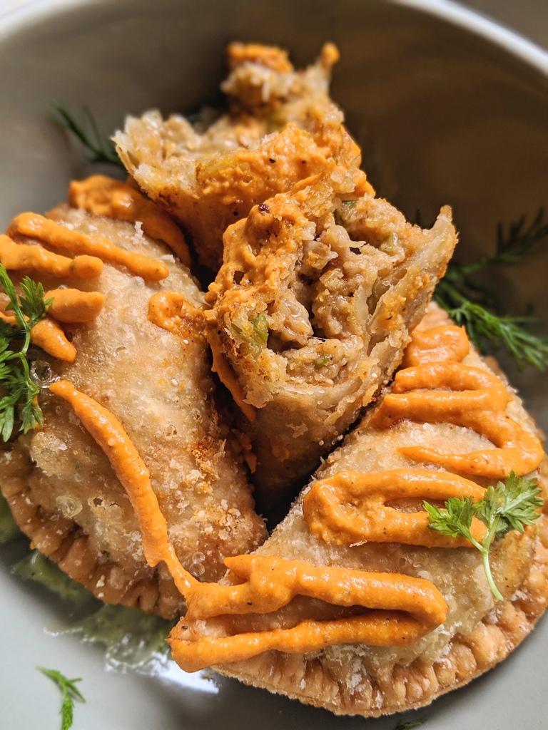 Crawfish Handpies from Eunice