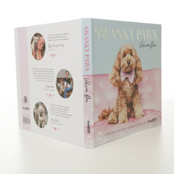 Swanky Paws charity book volume 1 supporting RSPCA NSW