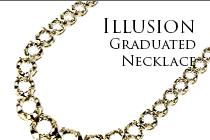 Illusion Graduated Necklace