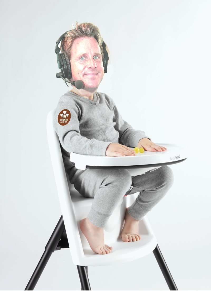 High chair  SWANNING ABOUT