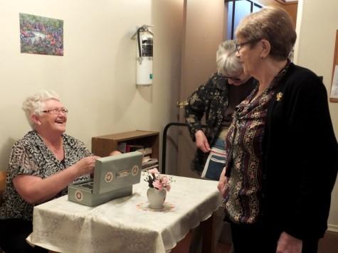 Friendly Faces at Minitonas United Church Tea  Swan River
