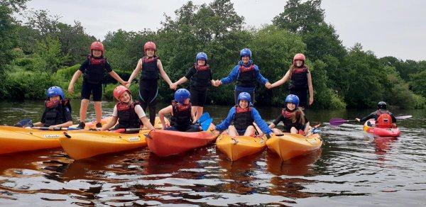 kayaking lliw reservoir