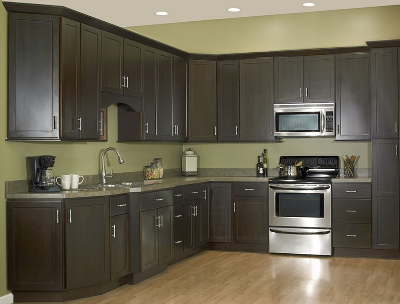 kitchen cabinet factory outlet quartz countertops colors for kitchens craftsman premier – amesbury espresso | swansea ...