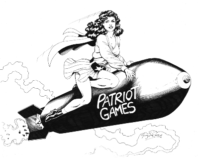 Pat Patriot, pencils and inks by comics artist Greg LaRocque