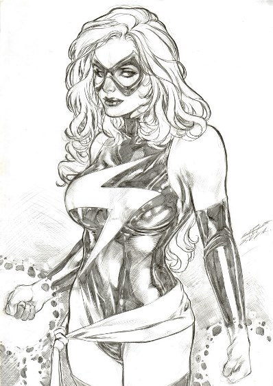 Comic Art Friday: It's hard out here for a superheroine
