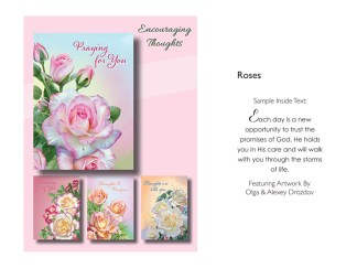 BOXED CARDS ENCOURAGEMENT ROSES