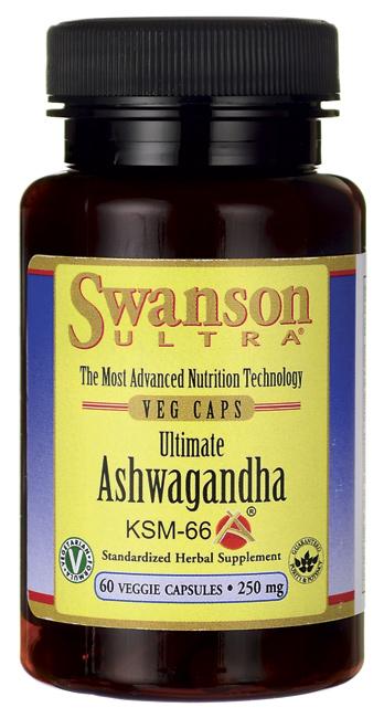 Ashwagandha KSM66  Swanson Health Products Europe