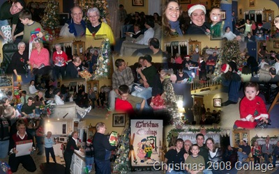 Christmas 2008 Collage