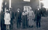 Philip's parents (Karl & Emma on right) & relatives in Sweden