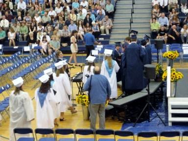 Class Officers EHS Graduation June 17th 2011