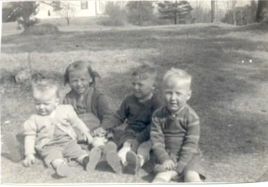Arlene, Ingrid, George, Phil 1941