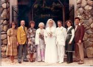 Chris' wedding to Joe Lorion 1979 (Phil must be calming Joe somewhere!)