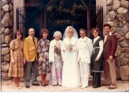 Chris' wedding to Joe Lorion 1979 (Phil must be calming Joe somewhere!)