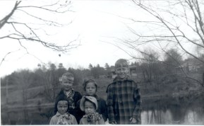 Neighbor Alan DeLisle, Arlene, Phil, Jim, Chris