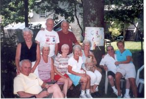 Phil's siblings and spouses at 70th
